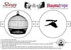 Slurpy Studios Thaumatrope printable