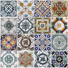 Kakeldekor vintage/marrakech 16-pack - Paxlux.se