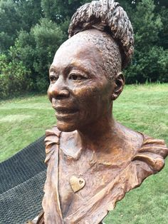 Bronze by Luke Shepherd. Commissioned by Exeter University to celebrate her successful tenure as Chancellor. Unveiled Feb Only the named public sculpture of a black woman in the UK. Female Head, South London, Bronze Sculpture, Public Art, Master Class, Sculpting, Black Women, Sculptures, Feb 2017
