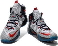 sports shoes 818fd a58df Nike Lebron 12 Crystal Blue Black White Shoes0