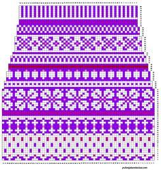 Knitting Paterns, Fair Isle Knitting Patterns, Knitting Charts, Knitting Socks, Knit Patterns, Embroidery Patterns, Willow Weaving, Wool Socks, Designer Socks