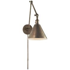 Studio Double Boston Functional Library Light in Antique Nickel by Visual Comfort SL2923AN