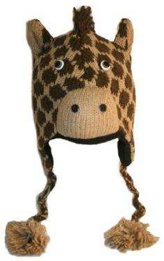 la gorra; de color marron, negro