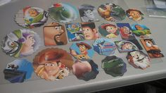Toy Story Scrapbooking tags Disney die cuts card by amylaugh, $6.25