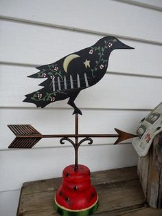 Crow Weather vane