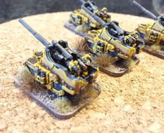 Fawcett Avenue Conscripts: Epic 30k - Imperial Fist Artillery, Infantry and Command