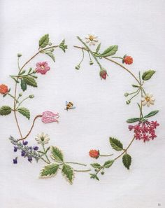 #ClippedOnIssuu from Embroidery four seasons gardening