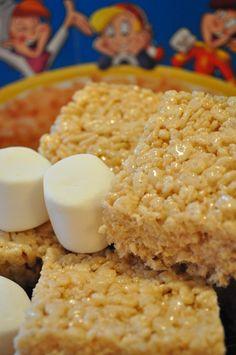 Carrés Rice Krispies - Guimauve