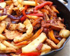 Quick Peruvian-style Chicken Stir Fry - Pollo Saltado: Pollo Saltado - Recipe for Peruvian-style Chicken Stir Fry