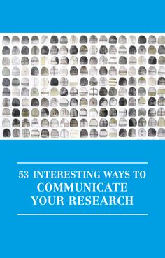 Buy 53 Interesting Ways to Communicate Your Research by Irenee Daly, Aoife Brophy Haney from Waterstones today! Click and Collect from your local Waterstones or get FREE UK delivery on orders over Scientific Writing, Academic Writing, Education System, Higher Education, Grey Literature, Reflective Practitioner, Apps For Teachers, Educational News, Term Paper