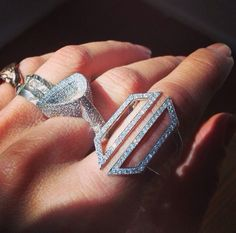 Lightness Of Being... #karmaelkhaliljewelry #karmaelkhalil #ROSEARK