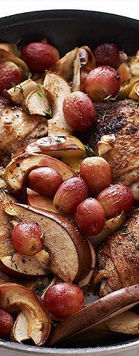 Try this festive chicken for Rosh Hashanah!
