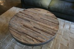Mossam Coffee Table by Croft House | Croft House Furniture Los Angeles, CA 90036 Great idea for pub table top!