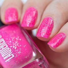 Maui // Handmade Neon Pink Nail Polish// Sterling by LaqueredUp
