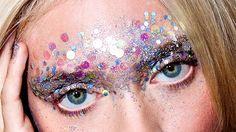 glitter make up festival - Google Search