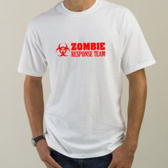 Zombie Response Team 02 T Shirts, Hoodies & Clothing VinylDisorder.com