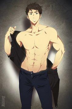 アニメの男の子 - Everything About Anime Anime Sexy, Hot Anime Boy, Anime Sensual, Cool Anime Guys, Handsome Anime Guys, Anime Boys, Naruto Boys, Cosplay Anime, Anime Boy Zeichnung