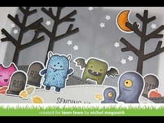 Lawn Fawn August 2014 Inspiration Week | MONSTER HUGS - YouTube