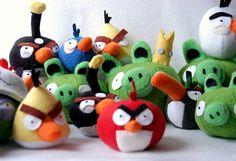 Plush angry birds - My Paper Crane