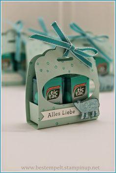 Stampin Up! Mini TicTac, Scallop Tag Punch, Endless Wishes, Wünsche zum Fest, White Christmas, Weiße Weihnacht