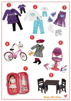 The Ultimate American Girl Accessory Guide with over 20 links to the best retail buys, free tutorials, handmade products for purchase and DI...