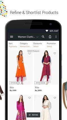 Jabong-Online Fashion Shopping- screenshot Jabong Online Shopping, Ecommerce App, Fashion Online, Popular, Women, Popular Pins, Most Popular, Woman