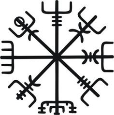 I really like this. But I don't know if it's something I'd wanna show off.   However it's meaning is exactly what I want. It's a viking compass or Vegvísir which symbolizes finding your way through the unknown