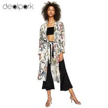 9304413fb 3XL Plus Size Mulheres Da Cópia Da Flor Sash Kimono Camisa Retro Bandage  Cardigan Blusa Top