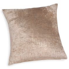ALANIS taupe velvet/sparkly cushion cover 40 x 40 cm