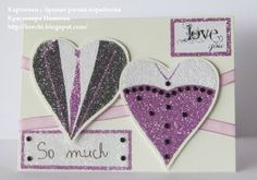 I love you I Love You, My Love, Card Making, Cards, How To Make, Accessories, Te Amo, Je T'aime, Love You