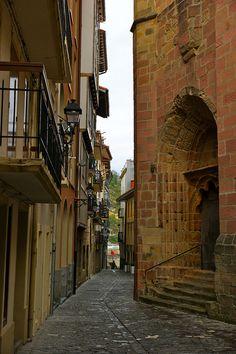 Basque Country, Gipuzkoa, Getaria, Spain