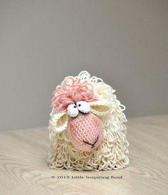 Amigurumi crochet sheep english PDF CROCHET por lescreasdeclo