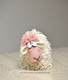 Curly sheep PDF CROCHET PATTERN by lescreasdeclo on Etsy                                                                                                                                                                                 More
