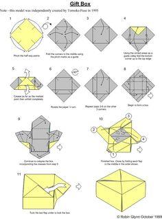 نتيجة بحث الصور عن origami box triangle diagram