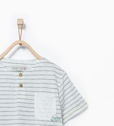 ZARA - KIDS - Contrasting striped T-shirt
