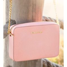 Michale Kors large cross body Brand new with out tags, light pink color. No trades ! MICHAEL Michael Kors Bags Crossbody Bags
