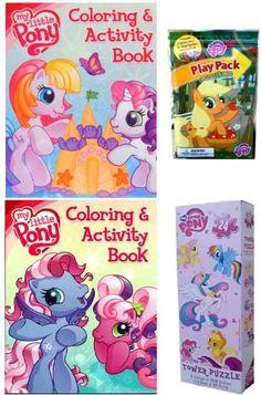TOPSELLER! My Little Pony 4 Item Set for Girls:... $14.99