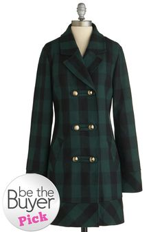 Tulle Clothing Back to Cool Coat | Mod Retro Vintage Coats | ModCloth.com