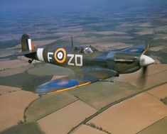 A Royal Air Force Spitfire Mark VB 'ZD-F') being flown by the Commanding Officer of No. 222 Squadron RAF, Squadron Leader Richard Milne, when based at North Weald, Essex (RAF). On 25 May 1942 Ww2 Aircraft, Fighter Aircraft, Military Aircraft, Fighter Jets, Gravelines France, Captain America Comic Books, Focke Wulf, The Spitfires, Air Festival