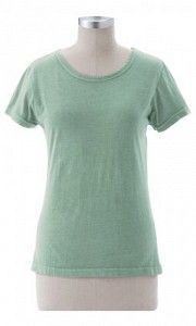 #ECskntee Ladies Skinny Tee - This luxuriously soft feeling tee has a fitted bodice and short sleeves.  It is made in the USA of 100% Organic Cotton.  $34.00  www.stylishorganics.com