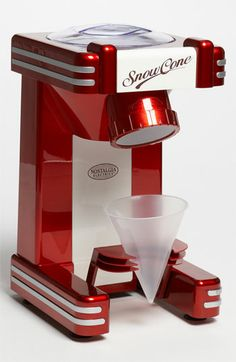 Nostalgia Electrics™ 'Retro Series' Single Serve Snow Cone Maker available at #Nordstrom