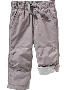 Jersey-Lined Convertible Pants for Baby   Old Navy $10