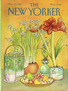 The New Yorker - Monday, December 27, 1982 - Issue # 3019 - Vol. 58 - N° 45 - Cover by : Jenni Oliver