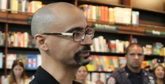 Some 200 Junot Díaz fans were turned away as the author made his first public appearance since the release of his new book.