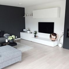 the which I I I – room, room room minimal … – Home Accents living room – einrichtungsideen wohnzimmer Living Room Grey, Living Room Bedroom, Interior Design Living Room, Home And Living, Living Room Designs, Interior Decorating, Bedroom Decor, Living Room Wallpaper, Small Living