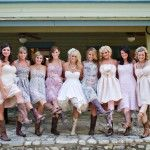 love the different dresses and cowgirl boots! :)