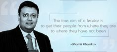 The true aim of a leader is to get their people from where they are to where they have not been. I have conducted various informative technical workshops & training sessions for various organizations.   http://www.authorizedstatement.org/statements/synapseindia-ceo-shamit-khemka-warns-of-outsourcing-scams-in-india/   https://alchetron.com/Shamit-Khemka-673520-W
