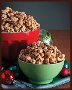 Almond Toffee Popcorn/ Enstrom Candies  Its to die for! Got it as a gift! Love it! Will Buy it!