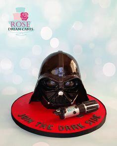 Star Wars Darth Vader Cake - Cake by Rose Dream Cakes