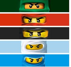 FREE Ninjago Labels for everything :)